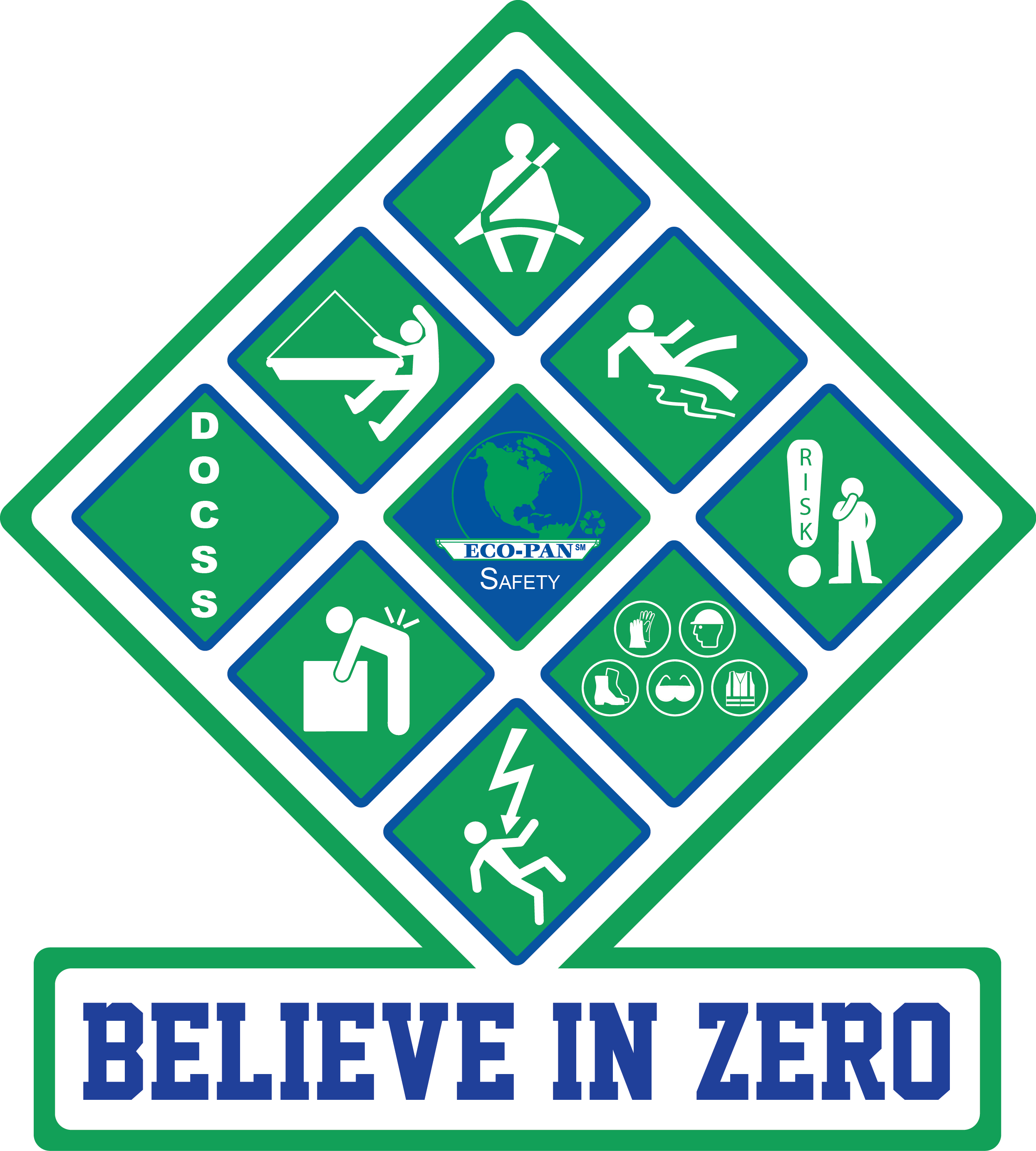 Eco-Pan Believe In Zero Safety Diamond