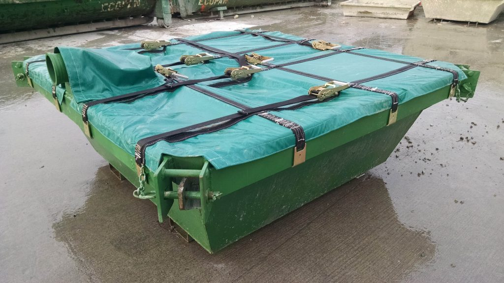 Waste Containment Pan Slurry Cover